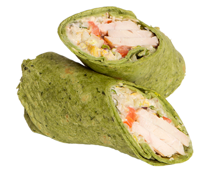 Chicken Caesar Wrap | The Coffee Bean & Tea Leaf Hawaii