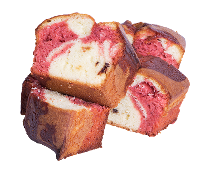 Strawberry Marble Pound Cake | The Coffee Bean & Tea Leaf Hawaii